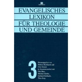Evangelisches Lexikon für Theologie und Gemeinde - Band 3