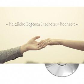 Herzliche Segenswünsche (Motiv Hände) - Faltkarte